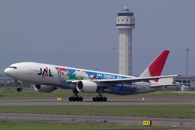 Photos: B777-200 JA771J JAL ムシキング 2005.08