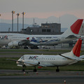 SAAB 340B JA03HCとJAL JA8909 2005.09