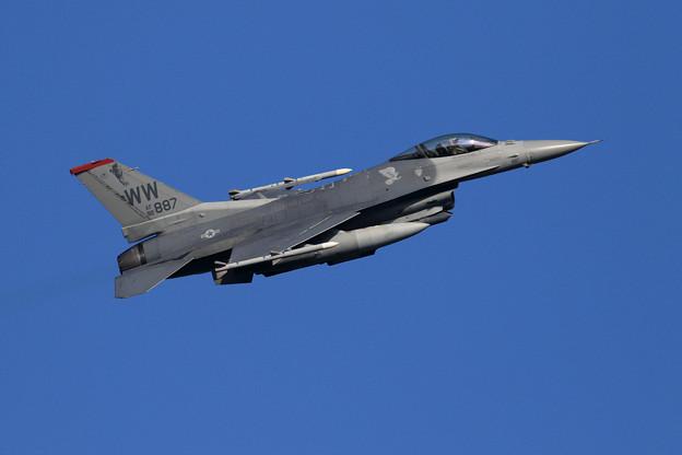 F-16C 92-3887 WW 13FS takeoff