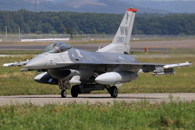 F-16C 92-3887 WW 13FS