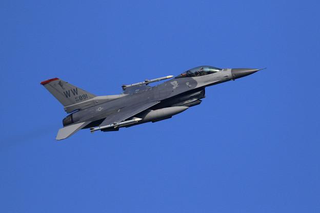 F-16C 92-3891 WW 13FS takeoff