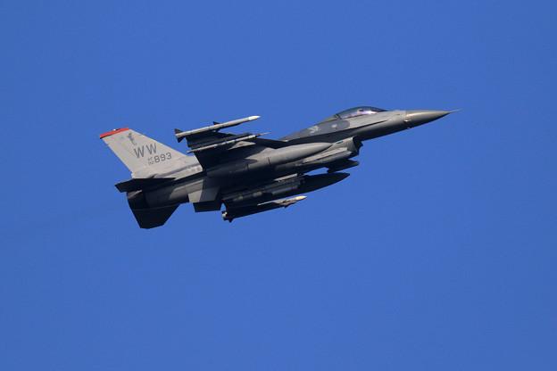 F-16C 92-3893 WW 13FS takeoff