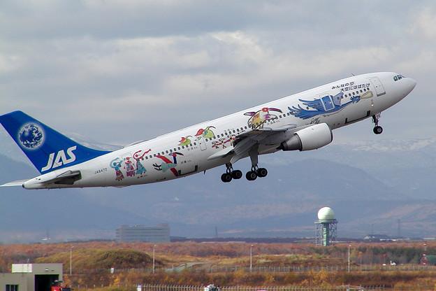 A300B2 JA8472 JASフレンドリーバード 2002.10(2)