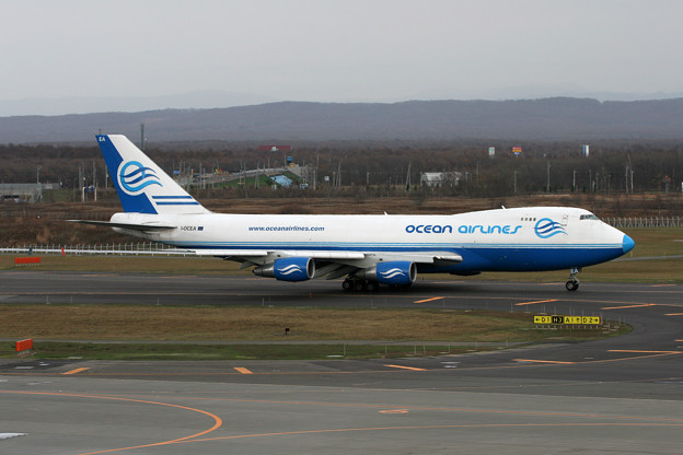 Photos: B747-230F I-OCEA Ocean Airlines 2006.11(1)