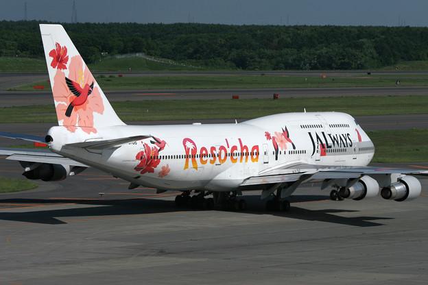 B747-300 JA8186 JALways 2006.06