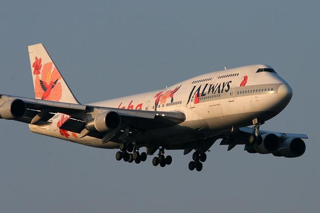 B747-300 JA8187 JALways 2007