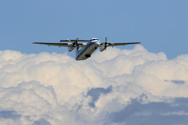 Q300 JCG おおわし takeoff