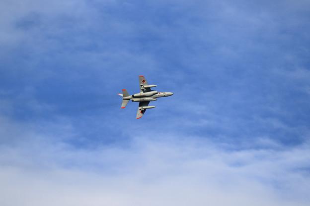 T-4 秋空をゆく