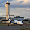 Photos: Q400 ANA WingsとCTS Tower