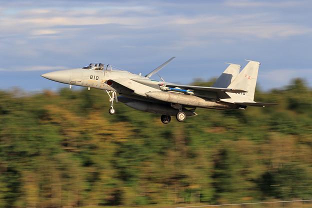 F-15J 22-8810 203sq approach