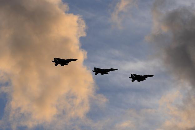 F-15 陽が傾く頃に