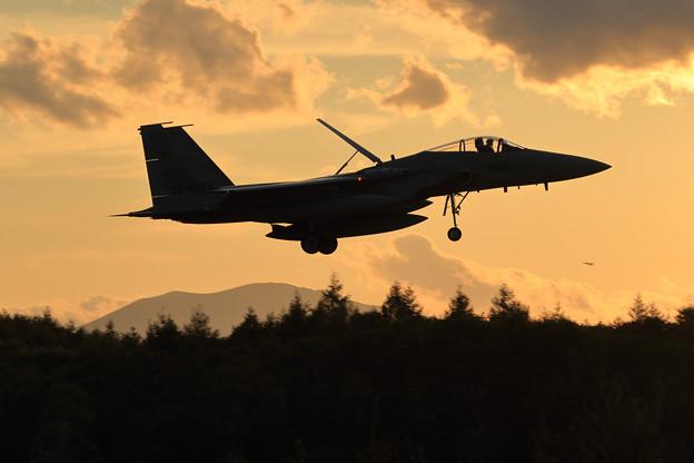 F-15J 日暮れ