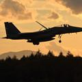 Photos: F-15J 日暮れ