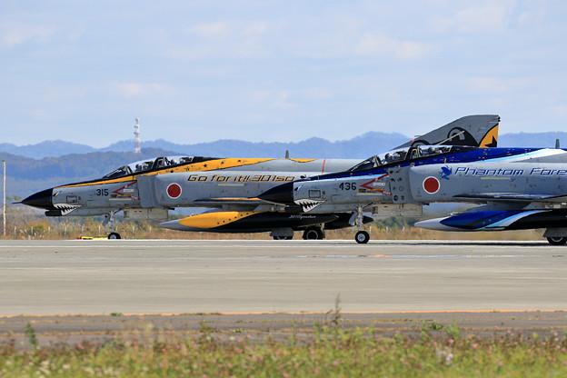 F-4EJ 37-8315 301sq CTS飛来 2020.10