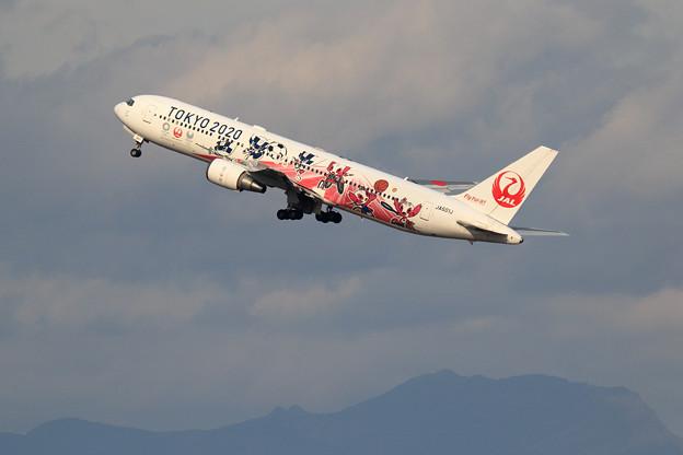 Boeing 767 JAL TOKYO 2020 JA601J