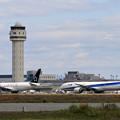 Boeing777をここに駐機、なぜ