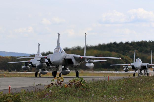 Photos: F-15J 203sq Taxiing (2)