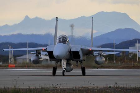 F-15DJ 8080 203sqと夕張岳
