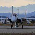 Photos: F-15DJ 8080 203sqと夕張岳
