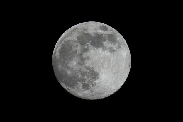 月大きさ比較令和2年4月7日の月