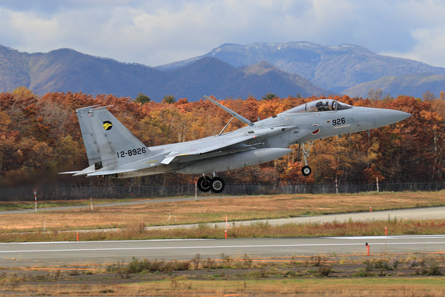 Photos: F-15J 306sq 8926が展開