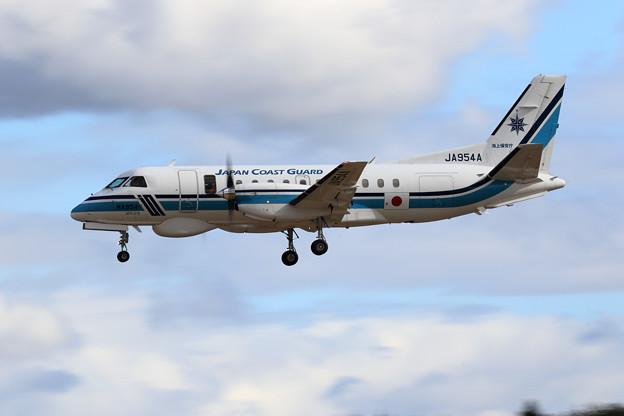 SAAB 340 JA954A はやぶさ JCG approach