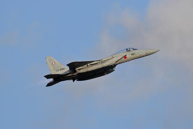 F-15J Scramble takeoff