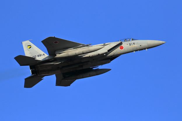F-15J 306sq 8914 takeoff