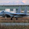 Photos: F-15J Return to Base