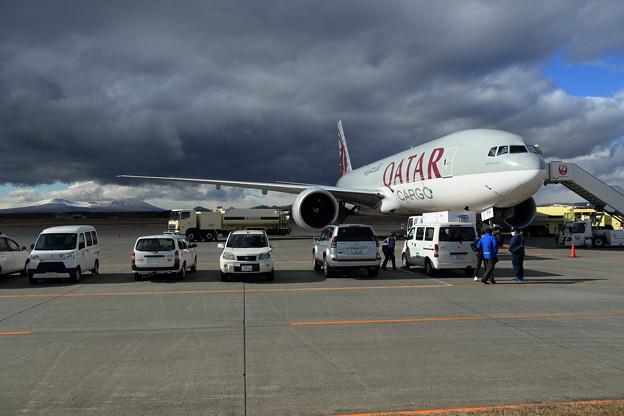 久しぶりにQatar Cargo (1)