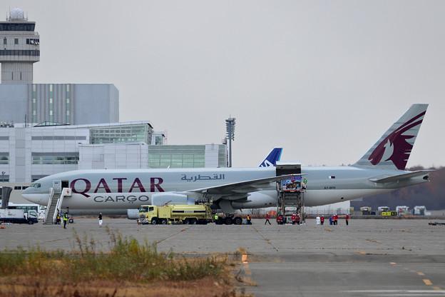 久しぶりにQatar Cargo (2)