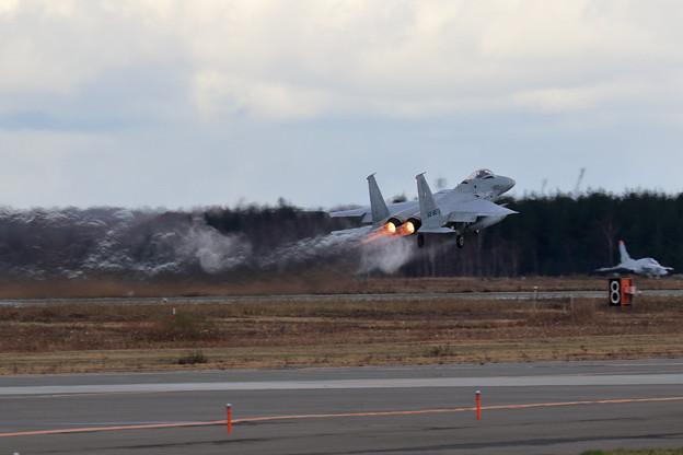 Photos: F-15 8873 203sq takeoff
