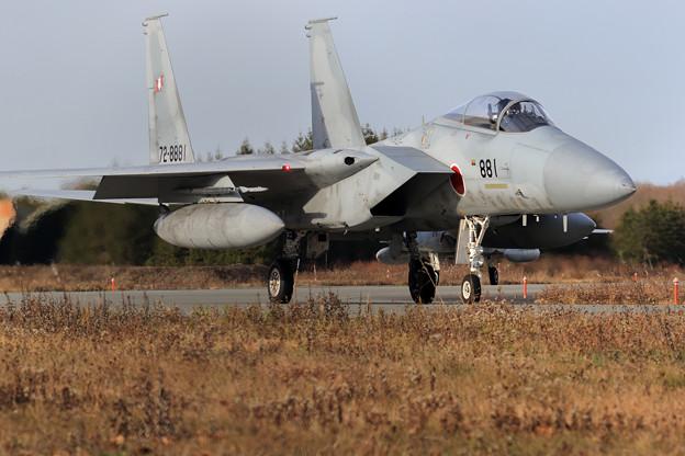 F-15J 8881 203sq taxiing