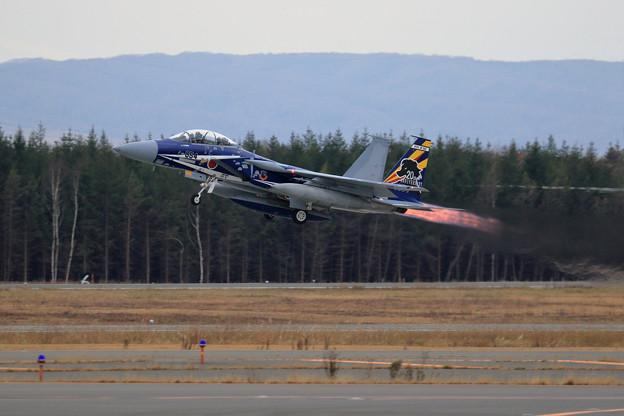 F-15DJ 23sq 20th Annversary 8054 飛来(2)