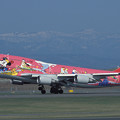 Photos: B747-446 JA8904 JAL 50th anniversary 2001