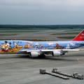 B747-446 JA8083 JAL50th anniversary 2001 (1)
