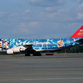 B747-446 JA8905 JAL 50th anniversary 2001