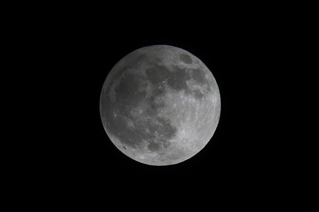 半影月食 2020年11月の満月