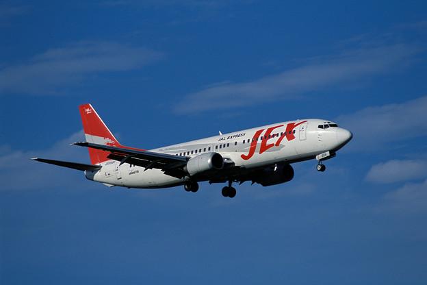 B737-400 JA8999 JEX CTS 2001