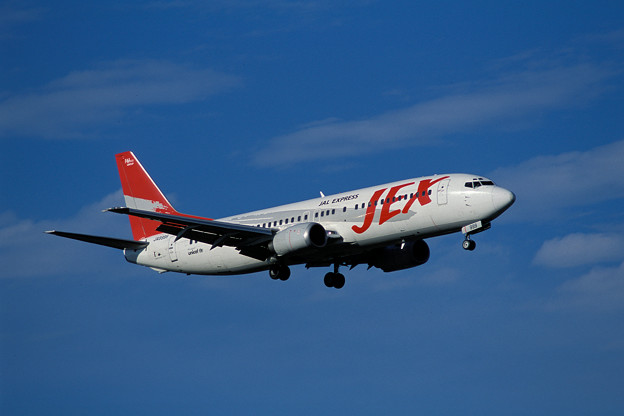 Photos: B737-400 JA8999 JEX CTS 2001