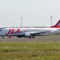 B737-400 JA8991 JEX CTS 2002