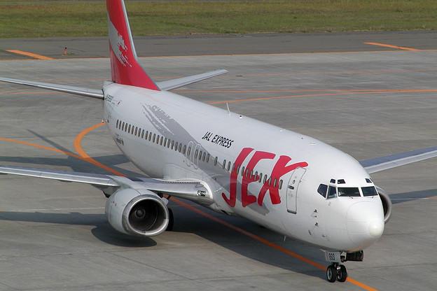 B737-400 JA8993 JEX CTS 2003