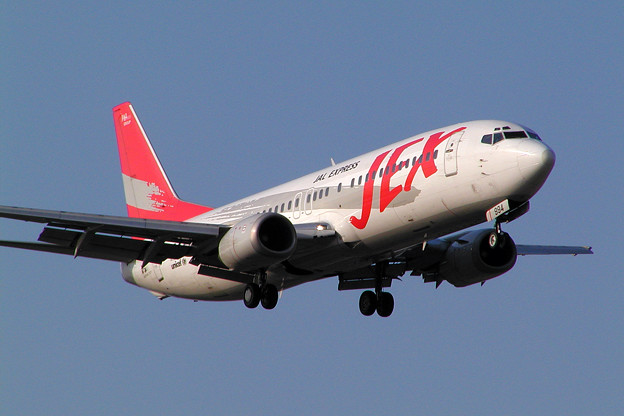 Photos: B737-400 JA8994 JEX 2004.05