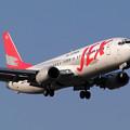 Photos: B737-400 JA8994 JEX 2004.05