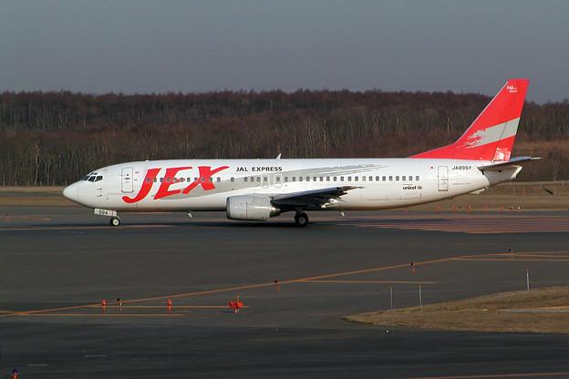 Photos: B737-400 JA8994 JEX 2004.04