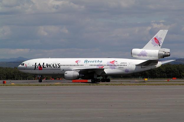 DC-10-40 JA8544 JALways CTS 2002