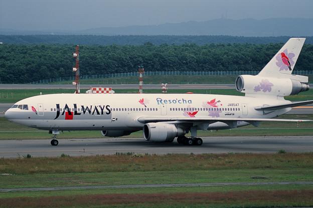 DC-10-40 JA8547 JALways CTS 2001夏