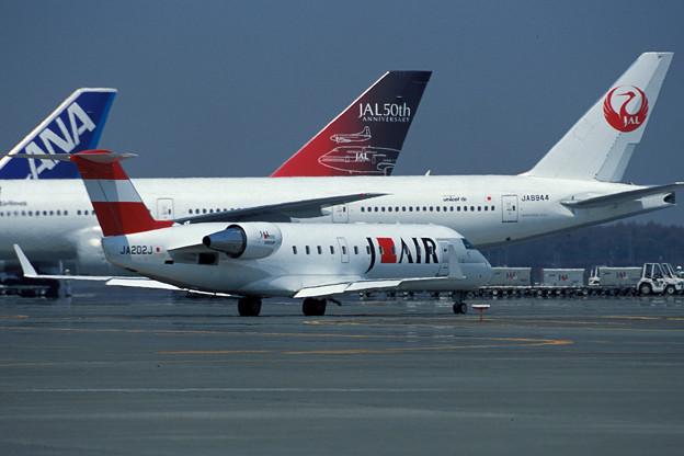 Bombardier CRJ-200 JA202J J-AIR CTS 2001