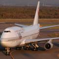 Photos: B747-446 JA8080 JAL CTS 2002.10