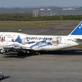 Photos: B747-446 JA8908 JAL日本代表サポーターズ号 2002.05